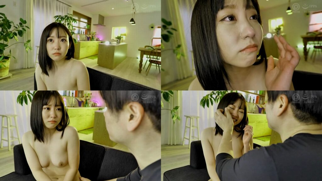 初のAV撮影で泣いてしまう七嶋舞